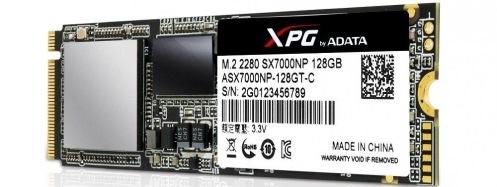 Накопитель SSD 128GB AData SX7000NP XPG Gaming PCIe M.2 3D TLC (ASX700