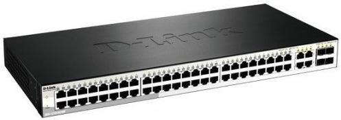 Коммутатор D-Link DES-1210-52/ME 48xFE, 4x1GE/SFP