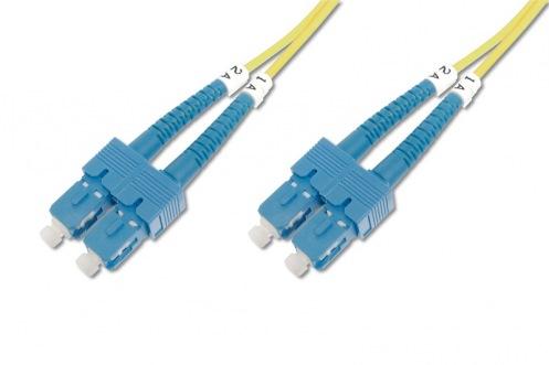 Оптический патч-корд DIGITUS SC/UPC-SC/UPC, 9/125, OS1, duplex, 5m (DK-2922-05)