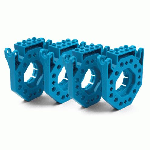 Аксессуары для робота Dash та Dot, Building Brick Connectors