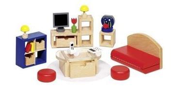 Набор для кукол goki Мебель для гостиной II 51749G