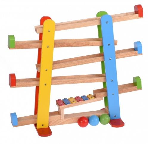 Развивающая игра goki Шариковая дорога с ксилофоном 53825G