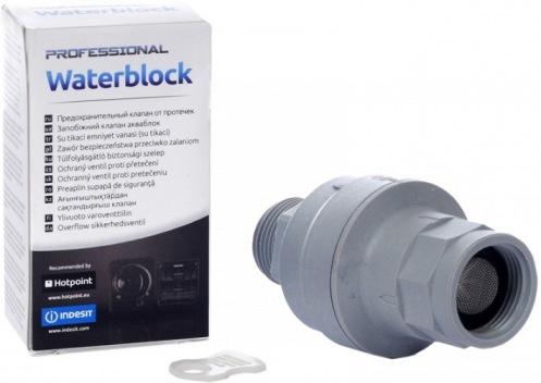 Предохранительный клапан от протекания INDESIT Waterblock C00091623