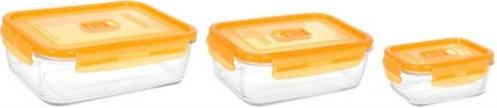Набор форм для хранения LUMINARC PURE BOX ACTIVE NEON N0338