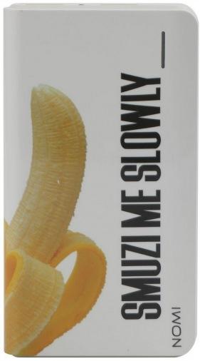 Универсальная мобильная батарея Nomi 8000mAh B&Z Банан