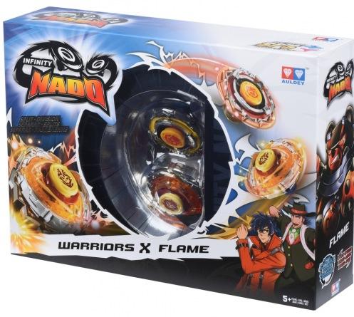 Волчок Auldey Infinity Nado Сплит Battle Buddha и Blast Flame с устройством старта