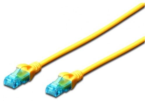 Патч-корд DIGITUS Professional CAT 5e U/UTP (DK-1511-020/Y) желтый