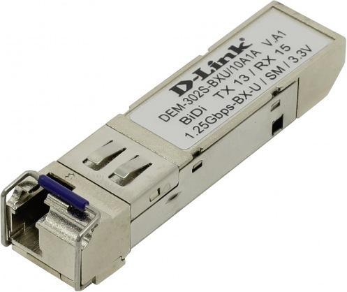 Трансивер D-Link DEM-302S-BXU SFP WDM 1000BaseBX