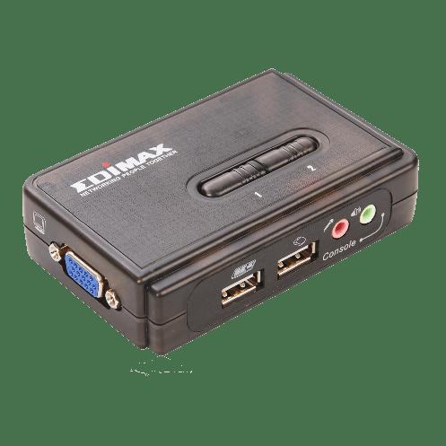 KVM-переключатель Edimax EK-UAK2