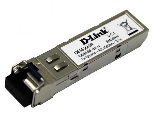 Модуль D-Link DEM-220R WDM 100BaseBX SFP LC