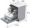 Посудомоечная машина встроенная PYRAMIDA DWN 6014