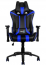 Кресло AEROCOOL AC120BB Black/Blue + 2 подушки (ACGC-2002101.B1)