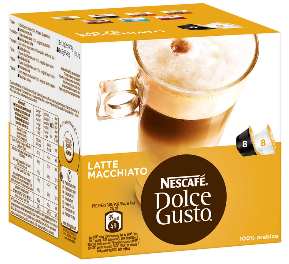 Напиток NESCAFE DOLCE GUSTO Латте Макиато