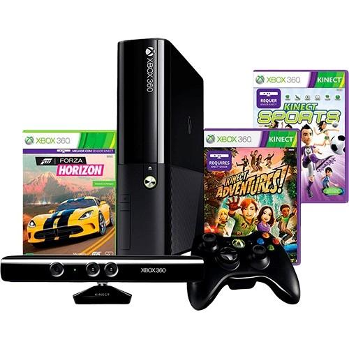Консоль XBOX 360 Slim 4Gb+Kinect+Игра