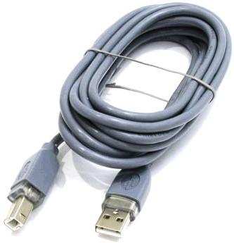 Кабель HAMA 45022 USB 1.1 A-B 3,0м
