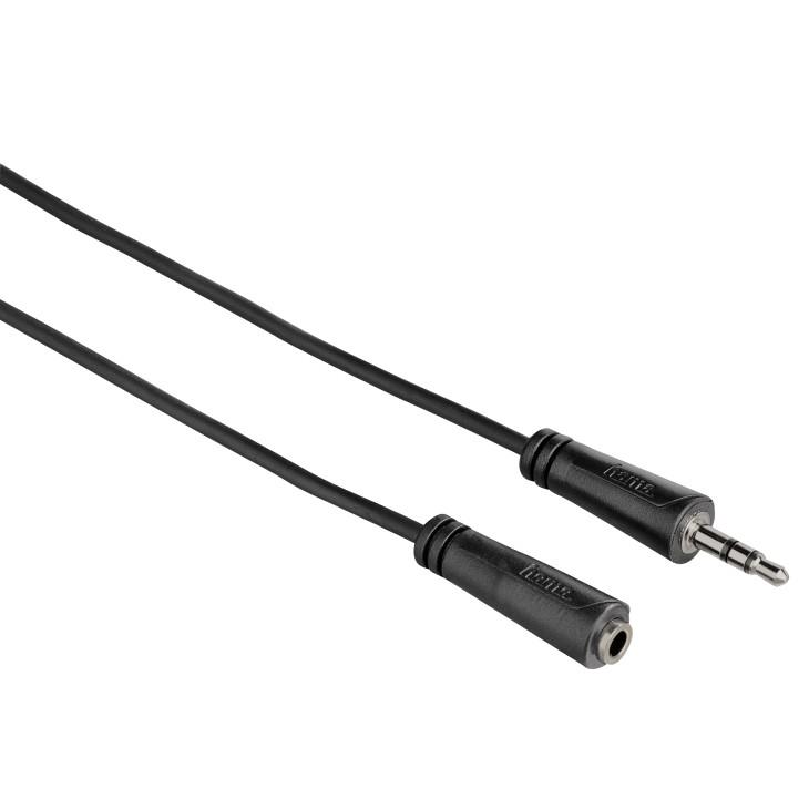 Удлинитель HAMA 122315  3,5 jack stereo, 5м