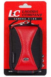 Сумка для фотоаппарата LC FLC-331 black/red