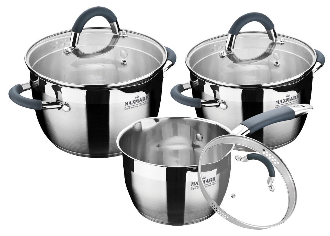 <b>Набор посуды</b> MAXMARK Vase <b>6 предметов</b> (MK-VS5506D ...