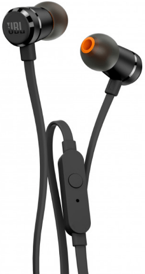 Наушники JBL T290 Black (JBLT290BLK)
