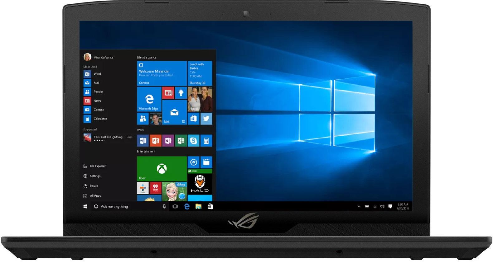 Ноутбук ASUS ROG GL503VM-FY047T (90NB0GI2-M00520)