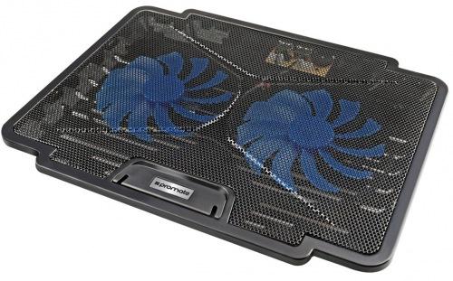 Підставка для охолодження ноутбука Promate Airbase-1 Black