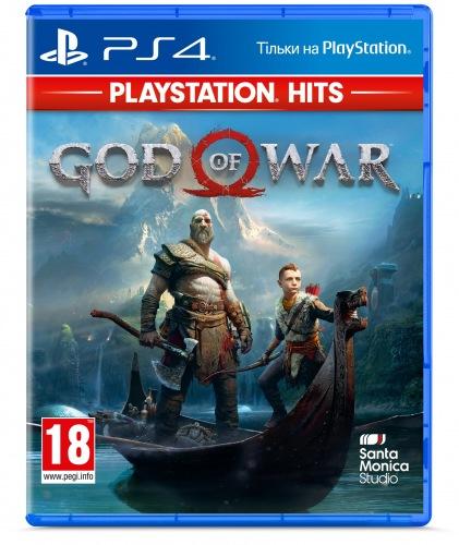 Гра God of War (PS4, російська версія)