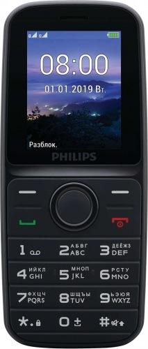 Мобільний телефон PHILIPS E109 Xenium (black)