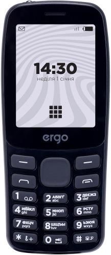 Мобільний телефон ERGO B241 Dual Sim Black