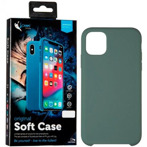 Накладка Krazi Soft Case iPhone 11, Green