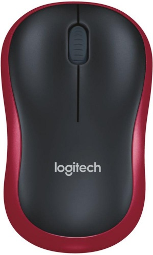 Миша Logitech М185 Red (910-002237/910-002240)
