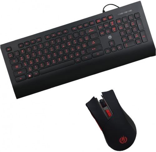 Ігровий набір клавіатура Piko KX6 + мишка Piko FX72 (1283126513985)