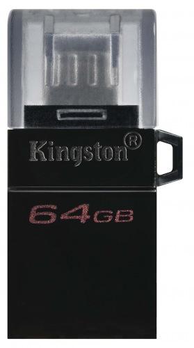 USB FD KINGSTON DT MicroDuo 3G2 64GB, OTG, USB 3.0 (DTDUO3G2/64GB)