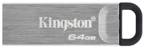 USB FD KINGSTON DT Kyson 64GB USB 3.2 Silver/Black (DTKN/64GB)