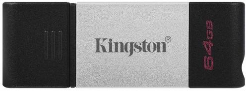USB флеш накопичувач KINGSTON 64GB DT80 Type-C