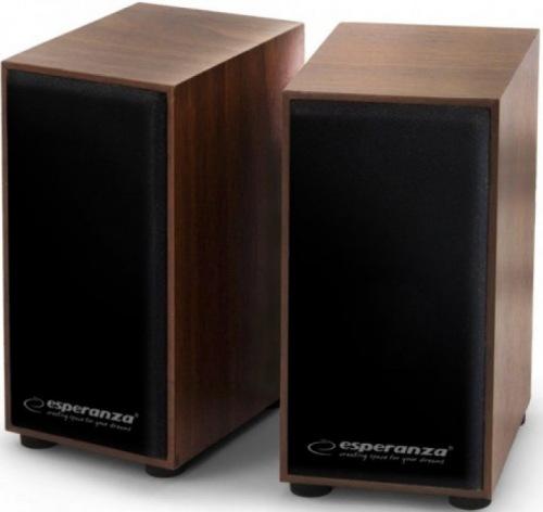 Колонки 2.0 Esperanza Speakers EP122 Wood