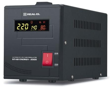 Стабілізатор REAL-EL STAB ENERGY-2000