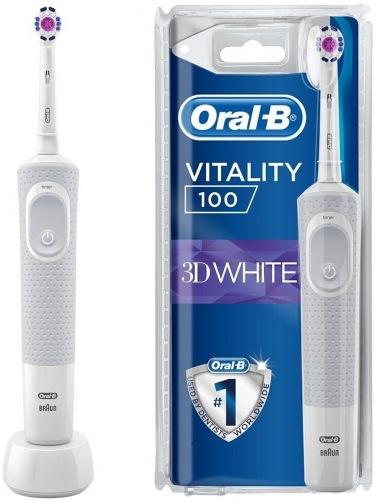 Зубна щітка BRAUN Oral-B Vitality D100 PRO 3D White
