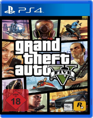 Гра Grand Theft Auto V PS4