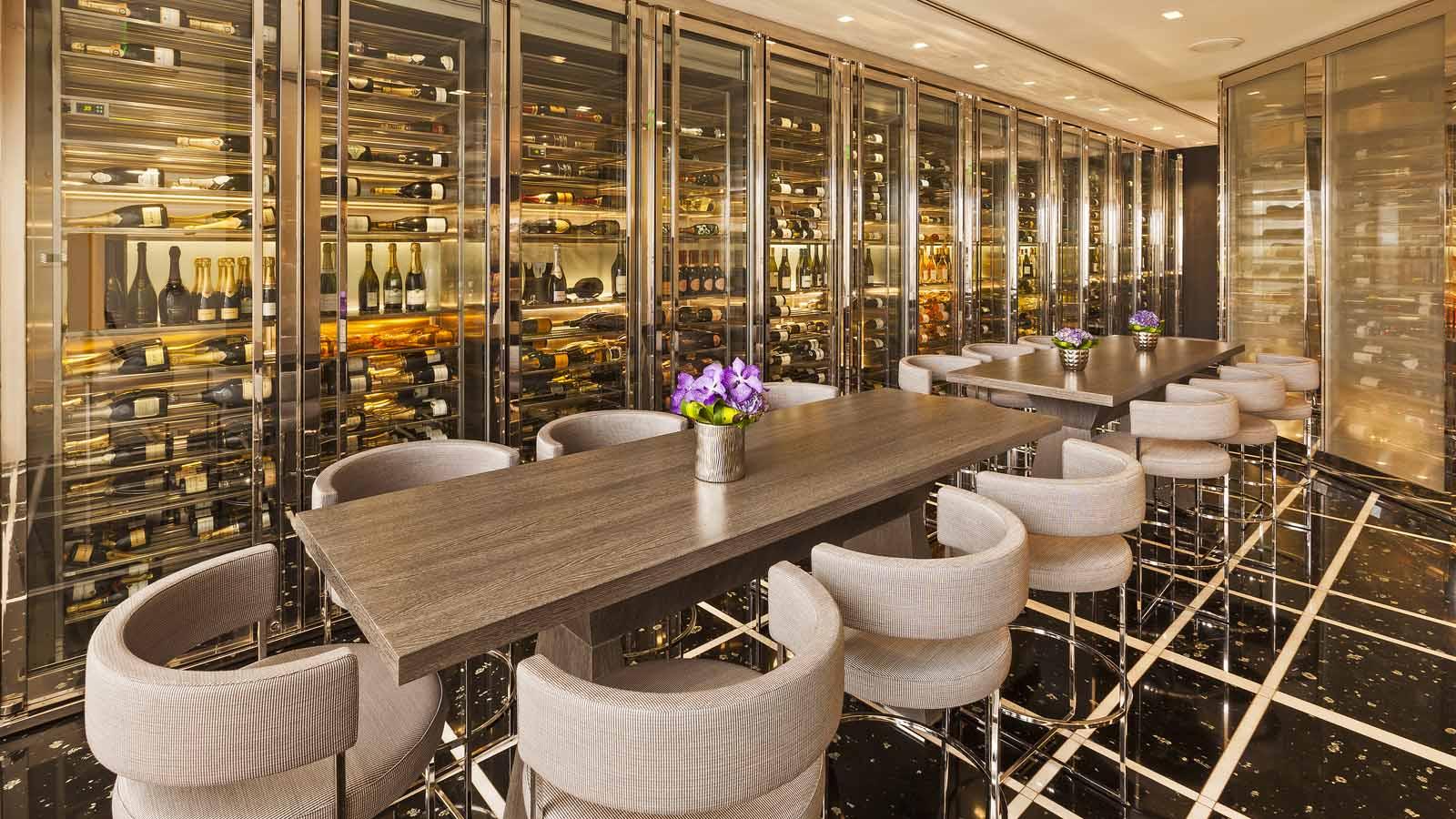 Дизайн винной комнаты