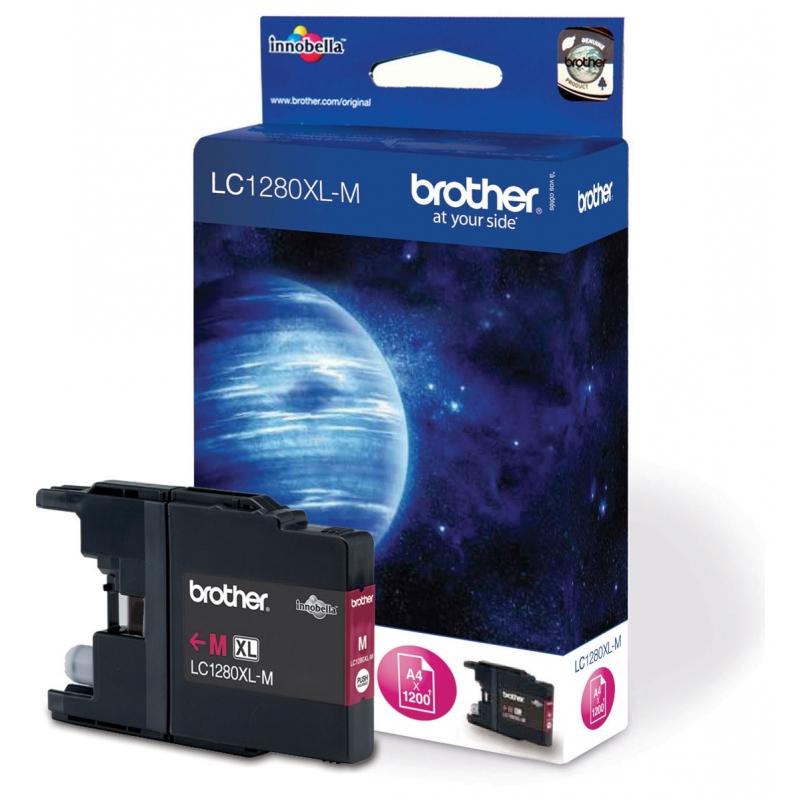 Картридж Brother MFC-J6510DW/ J6910DW XL magenta (LC1280XLM)