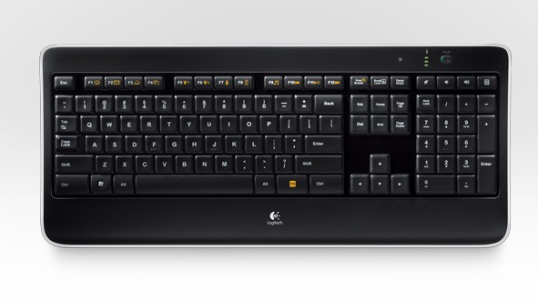 Клавиатура Logitech K800 Wireless illuminated Rus (920-002395)