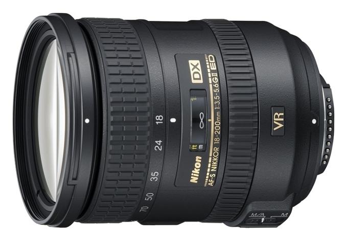 Объектив Nikon Nikkor 18-200mm f/3,5-5,6G IF-ED AF-S VR II DX (JAA813DA)