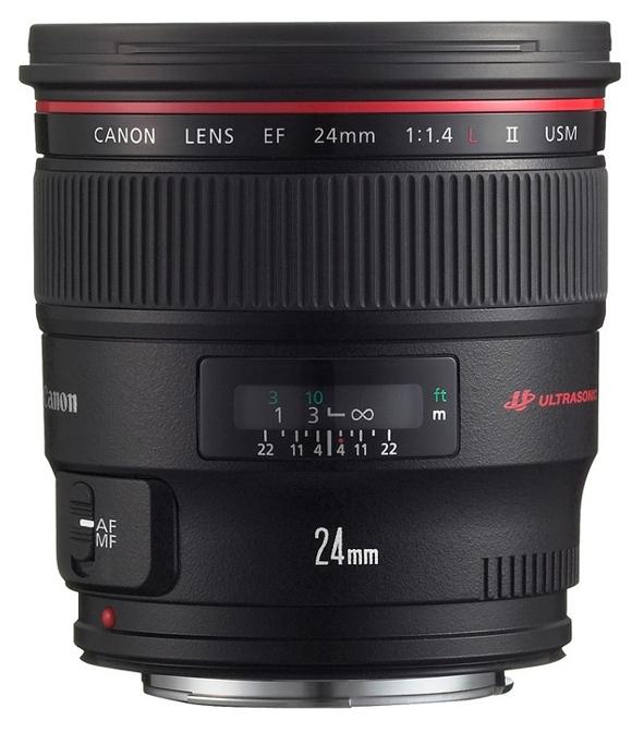 Объектив Canon 24mm f/1.4 L II USM EF (2750B005)