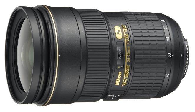 Объектив Nikon Nikkor 24-70 mm f/2,8G ED AF-S (JAA802DA)