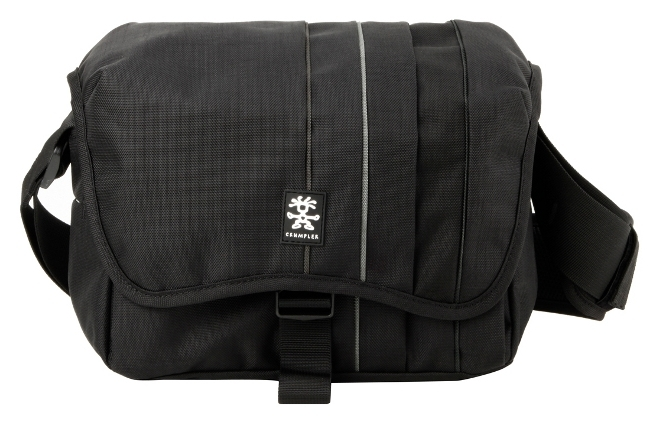 Сумка Crumpler Jackpack 4000 (dull black / dk. mouse grey)