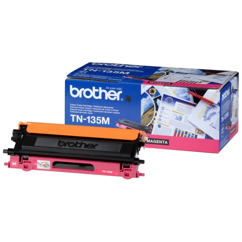 Картридж Brother (TN135M) для HL-40XXC, MFC-9440CN, DCP-9040CN Magenta