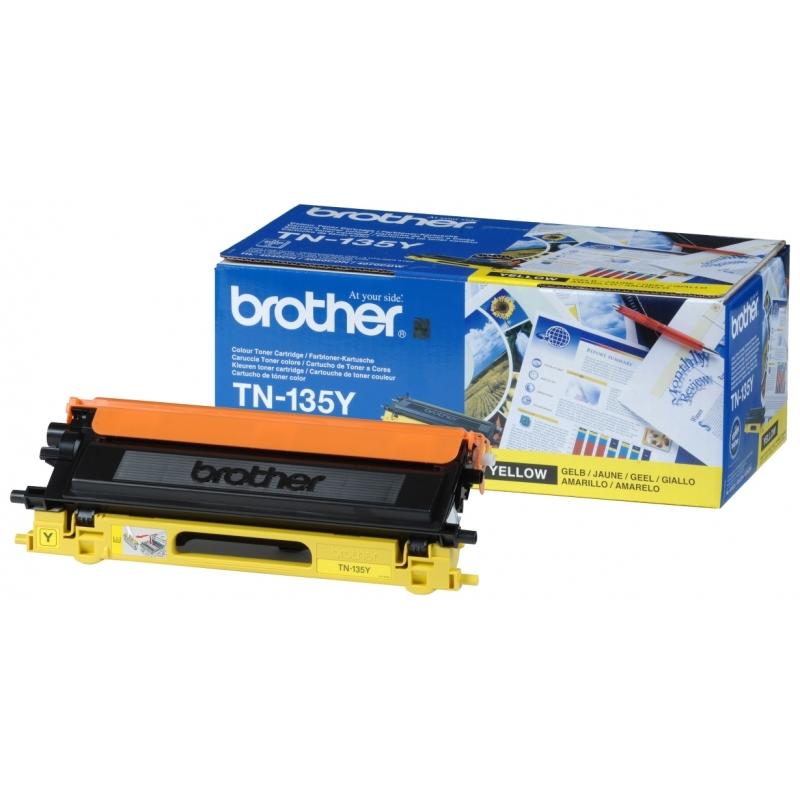 Картридж Brother (TN135Y) для HL-40XXC, MFC-9440CN, DCP-9040CN Yellow 2018