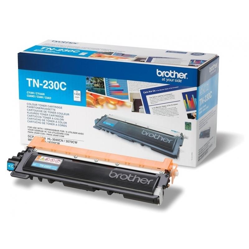 Картридж Brother для HL-3040CN, DCP-9010CN cyan (TN230C)