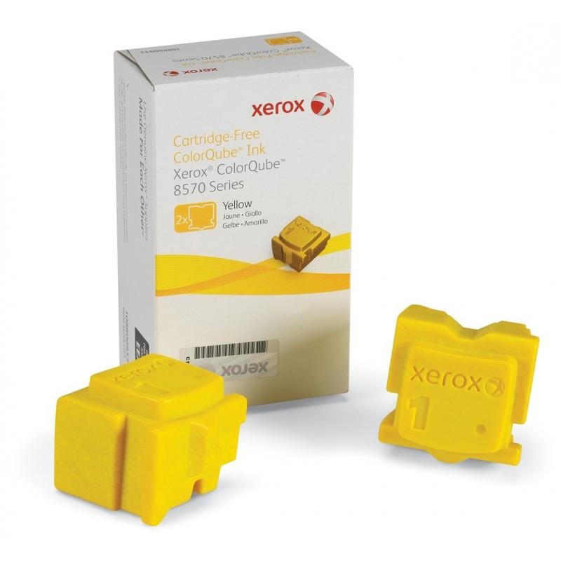 Брикеты твердочернильные Xerox CQ8570 Yellow (108R00938)
