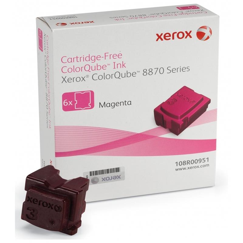 Брикеты твердочернильные Xerox CQ8870 Magenta (108R00959)